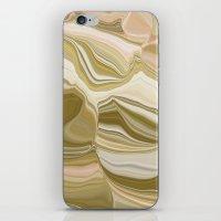 Pink botswana agate iPhone & iPod Skin