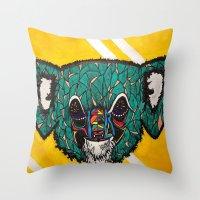 Koala, Whoa Throw Pillow