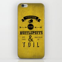 true & unafraid iPhone & iPod Skin