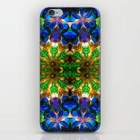 Kaleido: Blue, Green, Ye… iPhone & iPod Skin