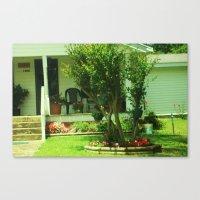 yard beauty Canvas Print