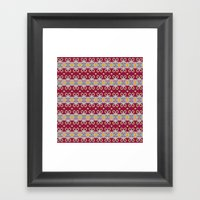 Mix&Match Indian Summer … Framed Art Print