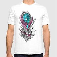 Flower Lover 2 White SMALL Mens Fitted Tee