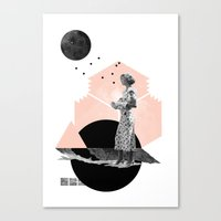 Too Late Canvas Print