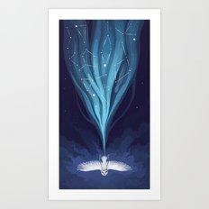 Night Owl 2 Art Print