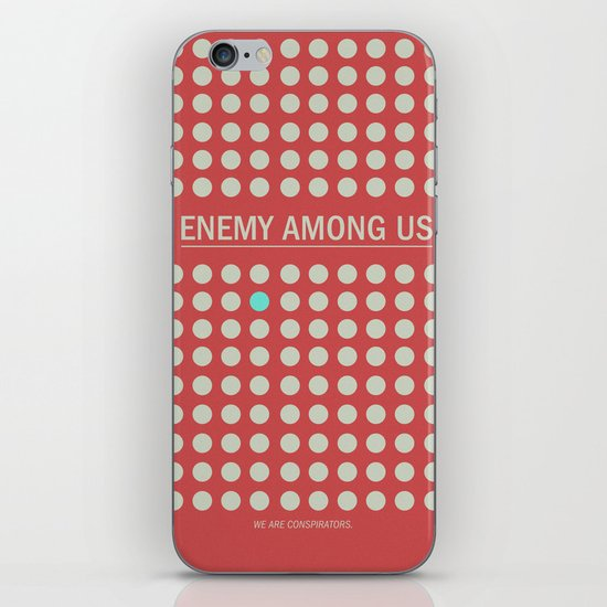 Enemy Among Us I iPhone & iPod Skin