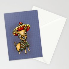 Mexican Chihuahua in Brown Stationery Cards