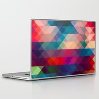 triangle Laptop & iPad Skins featuring TRIANGLE by Hands in the Sky