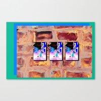 trinity_ blue lagoon street Canvas Print