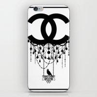 Coco Chandelier iPhone & iPod Skin