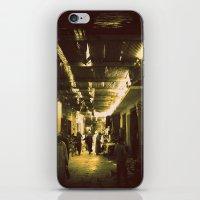 Marrakesh street life iPhone & iPod Skin