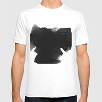 Shadow Play Mens Fitted Tee White SMALL