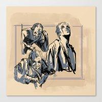 Floki Sketches 2 Canvas Print