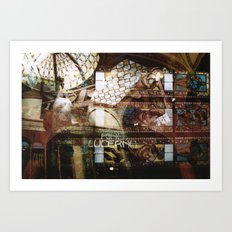 Palazzo Lucerna  - Prague Art Print
