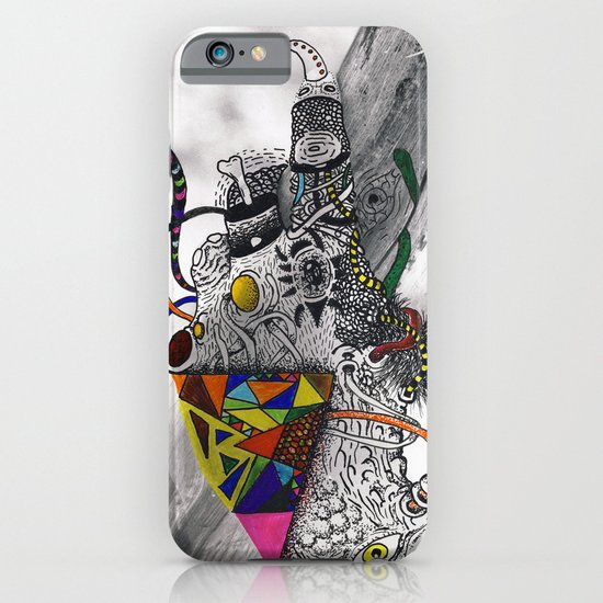 Psychoactive Bear 7 iPhone & iPod Case