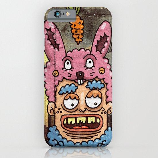 Happy Rabbit iPhone & iPod Case