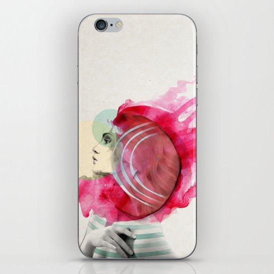 Bright Pink  iPhone & iPod Skin