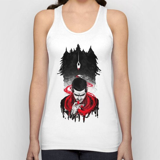 TW: First Blood Unisex Tank Top