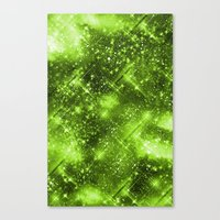 Dazzling Series (Green) Canvas Print
