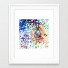 Framed Art Print - GLITCHED - EXITVS