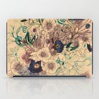 Zentangle Floral mix iPad Case