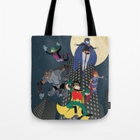 Teen Titans Tote Bag