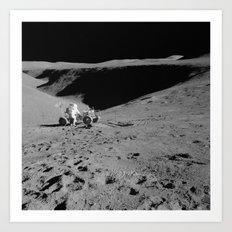 Lunar Vehicle  Art Print