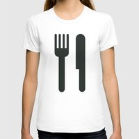 food T-shirts featuring Food by Alejandro Díaz