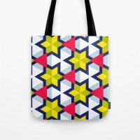 Krijgsman Pattern Tote Bag