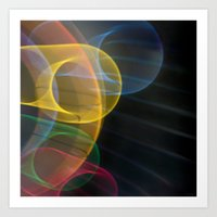 Light Painting CI Art Print