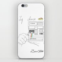 Say Cheese iPhone & iPod Skin
