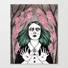 Summoning Spirits Canvas Print