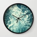 Water IV Wall Clock