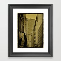 NY Art Framed Art Print