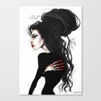 Amy ' I just need a friend'' Canvas Print