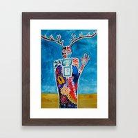 The Desert is Calling Me Framed Art Print