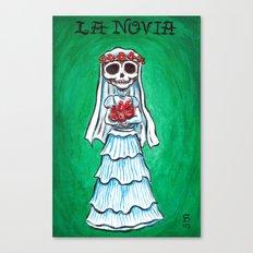La Novia Canvas Print