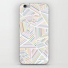 Ab Linear Rainbowz iPhone & iPod Skin