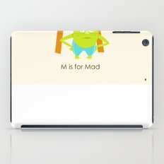 M is for Mad iPad Case