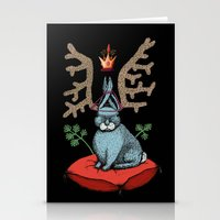 King Of Fools 2 (Blue Ra… Stationery Cards