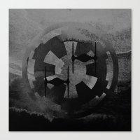 Galactic Empire Tie Figh… Canvas Print