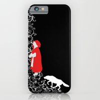 iPhone & iPod Case featuring Little Red - Dark by Alice Graphix