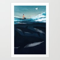Distraction Art Print