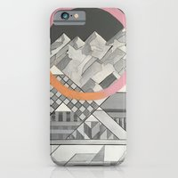 Geometry's Mountain  - inspired by mountain landscapes, geometry, and cycle of life. iPhone 6 Slim Case