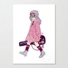V Like Violetta Canvas Print