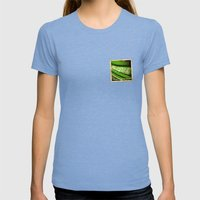 Grunge Sticker Of Kingdo… Womens Fitted Tee Tri-Blue SMALL