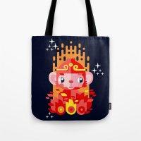 Fire Monkey Year Tote Bag