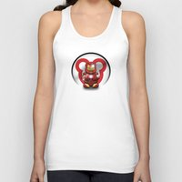 Super Bears - the Invincible One Unisex Tank Top