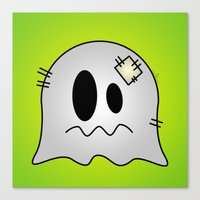 Cute Little Ghost Canvas Print