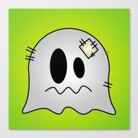 Cute Little Ghost Canvas Print